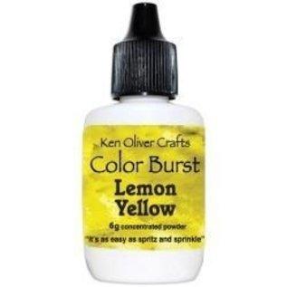 Ken Oliver Color Burst Powder 6gm Lemon Yellow