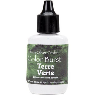 Ken Oliver Color Burst Powder 6gm Terre Verte