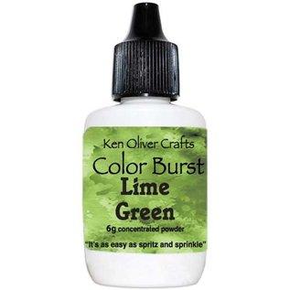 Ken Oliver Color Burst Powder 6gm Lime Green