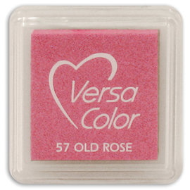Tsukineko VersaColor MINI ink pad OLD ROSE