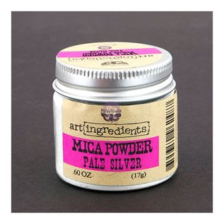 PRIMA MARKETING MICA POWDER: PALE SILVER 17G
