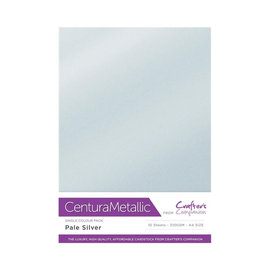 Crafters Companion Centura Metallic, 10 Sheets of Pale Solar 300gsm