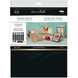 Deco Foil, Toner Sheets A4, heatactivated transfer papers