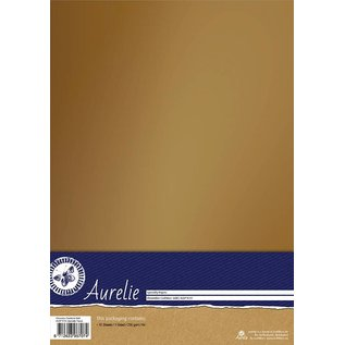 Aurelie Aurelie Chromolux Cardstock Gold 10 vellen
