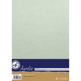 Aurelie Aurelie Sparkling Cardstock Pearl 10 vellen