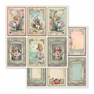stamperia Alice in Wonderland Stamperia