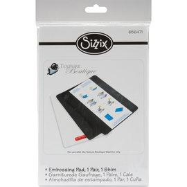 Sizzix SIZZIX-Accessory Texture Boutique Embossingpad standard 2x