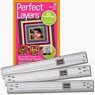 perfect layers rulers - liniaal 10 verschillende maten