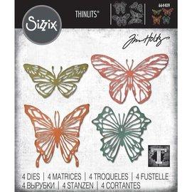 Sizzix Sizzix Tim Holz Scribbly Butterfly