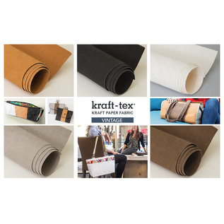 "kraft-tex Roll Stone Prewashed & Ready to Craft: Kraft Paper Fabric, 18.5"" x 15"""