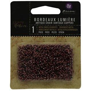 PRIMA MARKETING Chain: Bordeaux Lumiere/Antique Copper