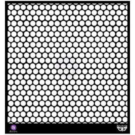 "PRIMA MARKETING Prima - Elementals - 12x12 Stencil ""Honeycomb"""