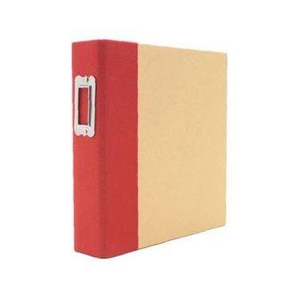 Snap Album - Binder 6 x 8 inch Red