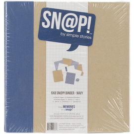 Snap Album - Binder 6 x 8 inch Navy