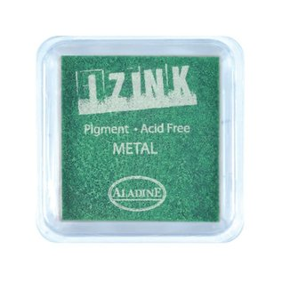 Izink Pigment Metal  licht groen
