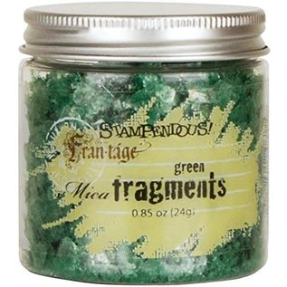 Mica Fragments-Green By  STAMPENDOUS