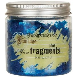Mica Fragments-Blue By  STAMPENDOUS