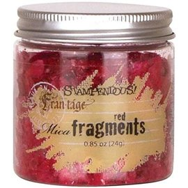 Mica Fragments-Red By  STAMPENDOUS