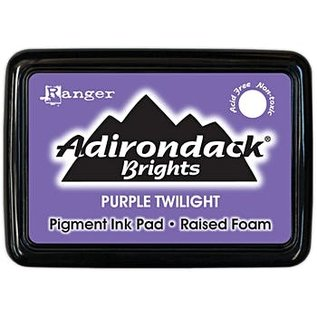 Ranger Adirondack Brights pad  - purple twilight