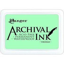 Ranger Archival ink pad viridian