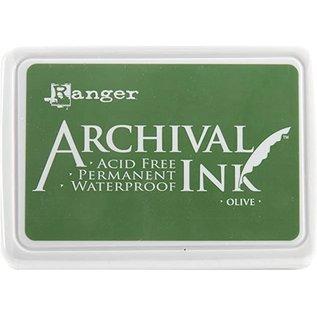 Ranger Archival ink pad olive