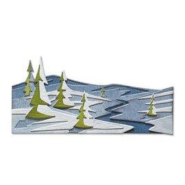 Sizzix Sizzix Thinlits - snowscape - colorize