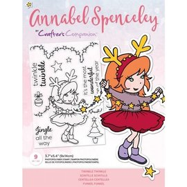Annabel Spenceley Clearstamp - Twinkle Twinkle