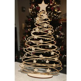 "Cart 'n Scrap Art Kerstboom ""Swirl""  40 cm"