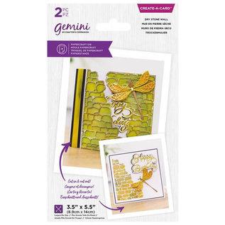 Gemini Gemini Create-a-Card - Dry Stone Wall  8,9x14 cm