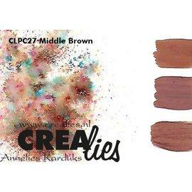 CreaLies Crealies Pigment Colorzz poeder Middenbruin