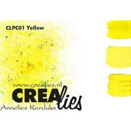 CreaLies Crealies Pigment Colorzz poeder Geel