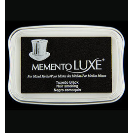 Tsukineko Tsukineko • Memento Luxe 9x6cm Tuxedo Black