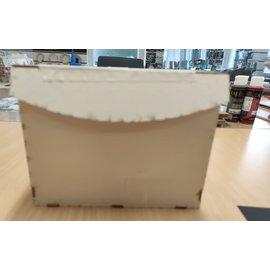 Cart 'n Scrap Art DIY spaarpot   Breed 15 cm  Hoog 12.50 cm  Diep 7