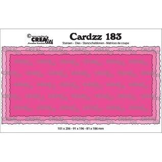 CreaLies Cardzz stansen no. 183, Slimline C
