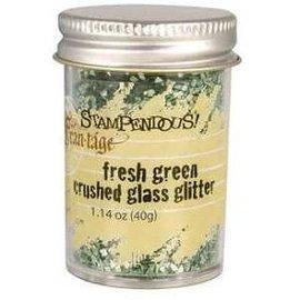 Crushed Glass Glitter Fresh Green