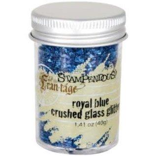 Crushed Glass Glitter Royal Blue