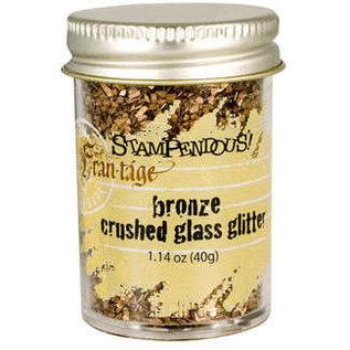Crushed Glass Glitter Bronze
