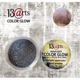 13 Arts 13Arts Metallic Watercolr Paint Powder Color Glow Andalusite