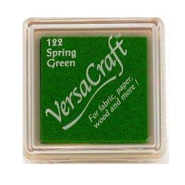 Tsukineko VersaCraft inkpad small Spring green