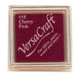 Tsukineko VersaCraft inkpad small Cherry pink