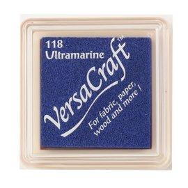 Tsukineko VersaCraft inkpad small Ultramarine