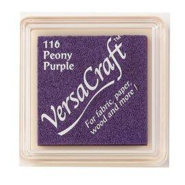 Tsukineko VersaCraft inkpad small Peony purple