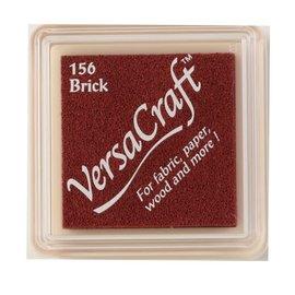 Tsukineko VersaCraft inkpad small Brick