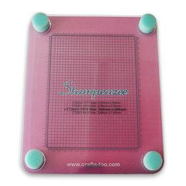 Crafts too Stampeazee Clear Stamp Press Grid Stamper 240mm x 290mm