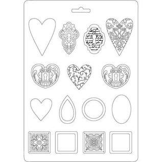 stamperia Stamperia Soft Maxi Mould Jewelry