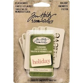 Tim Holtz Tim Holtz  Flash Cards Holiday 72st