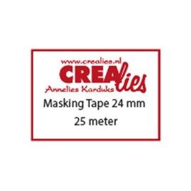 CreaLies Crealies • Basis Masking Tape 24mm x 25m