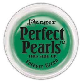 Ranger Perfect Pearls Pigment Powder  Forever Green .25oz