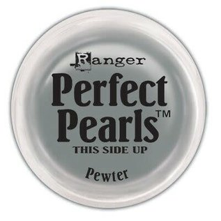 Ranger Ranger Perfect Pearls Pigment Powder .25oz-Pewter