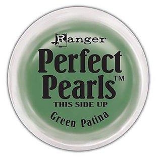 Ranger Perfect Pearls Pigment Powder  Green Patina.25oz